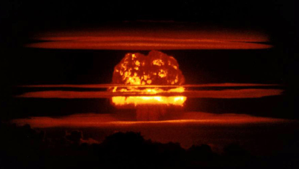 thermonuclear test