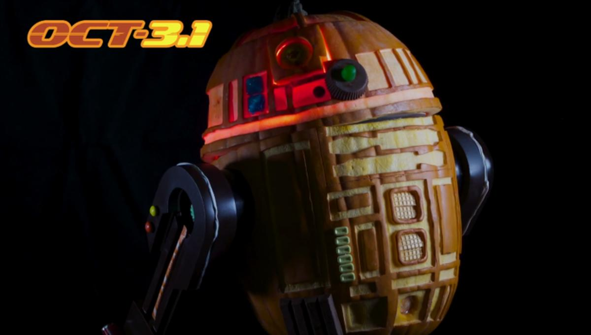 Image of the Day: Amazing radio-controlled R2-D2 pumpkin
