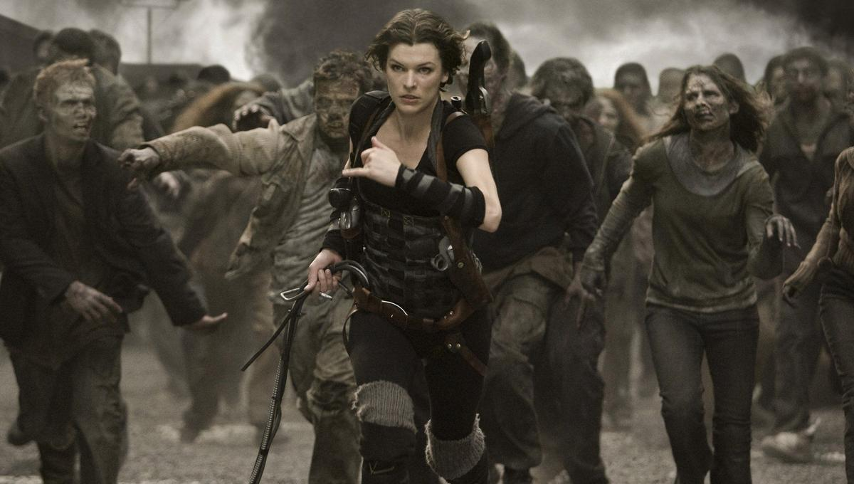 The Clock S Ticking For Alice In New Resident Evil The Final