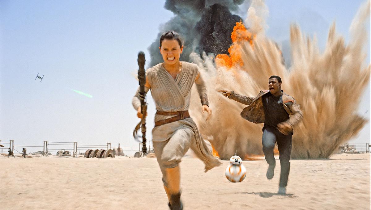 Image result for the force awakens running