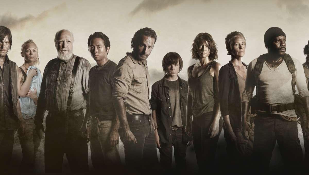 The walking dead main cast