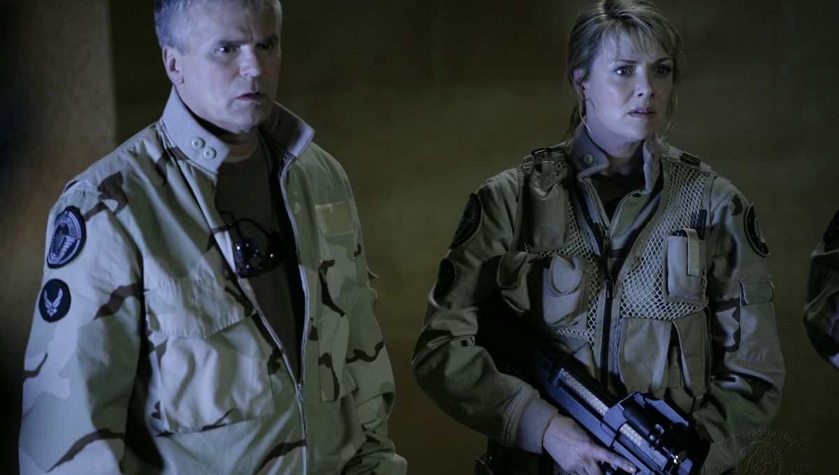 Amanda Tapping X Files sg-1 star amanda tapping on the odds she'll return in