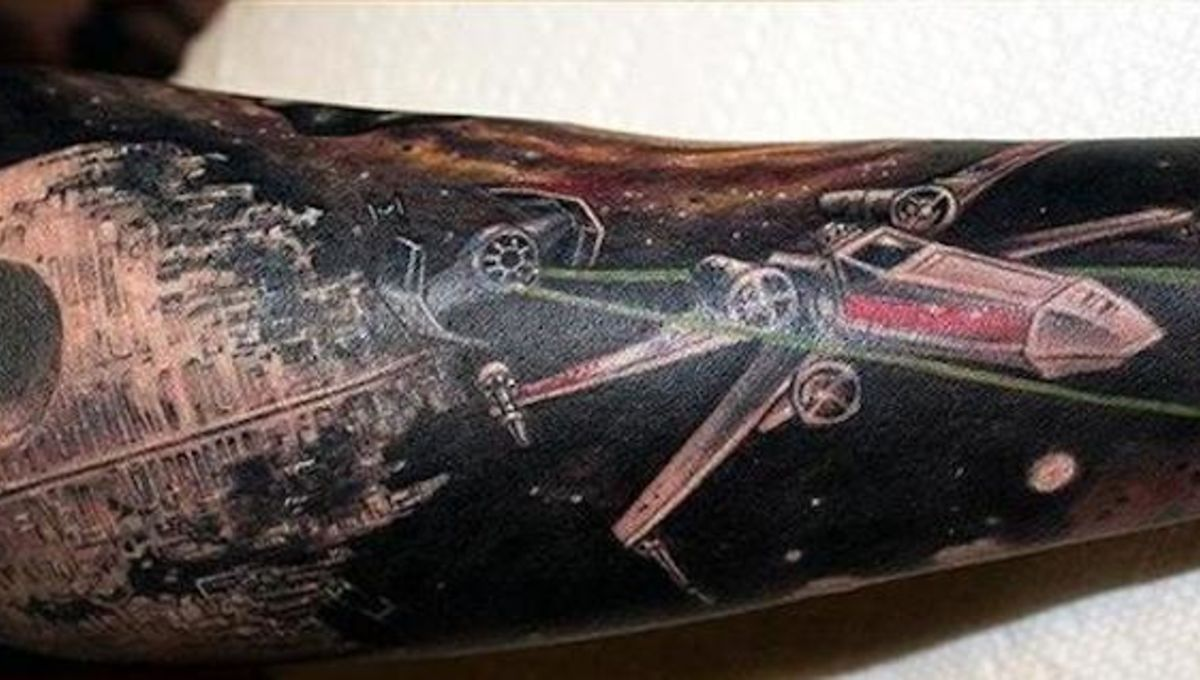 ddb2ac169 Image of the Day: Stunning Star Wars sleeve tattoo