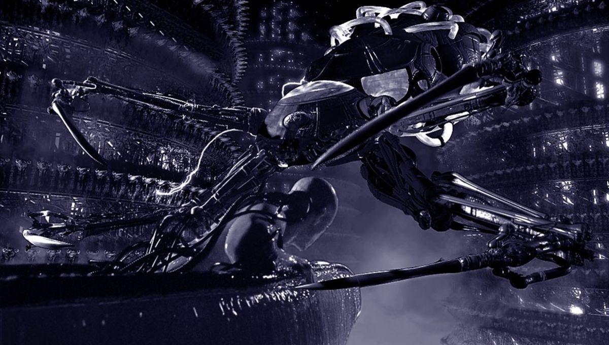 Robots Rule In Intriguing Original Matrix Concept Art