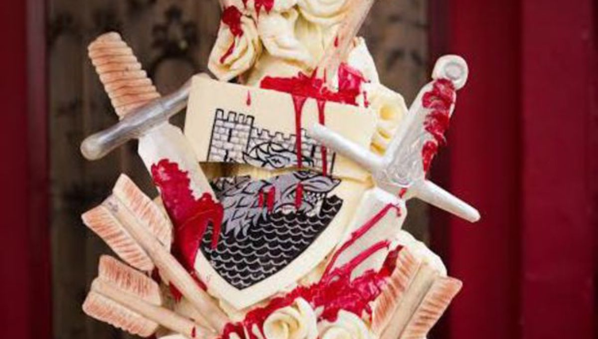 When Is The Red Wedding.Image Of The Day Who Needs A Wedding Cake When You Can Have