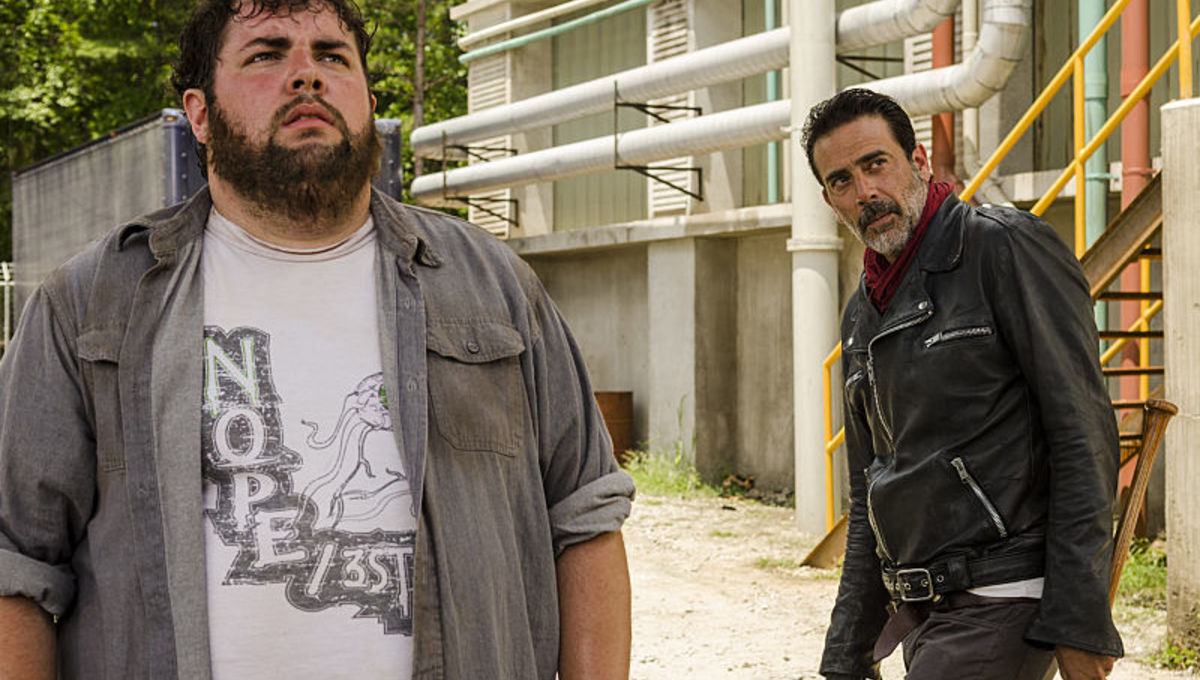 Carl finally takes his shot at Negan in the latest episode of The