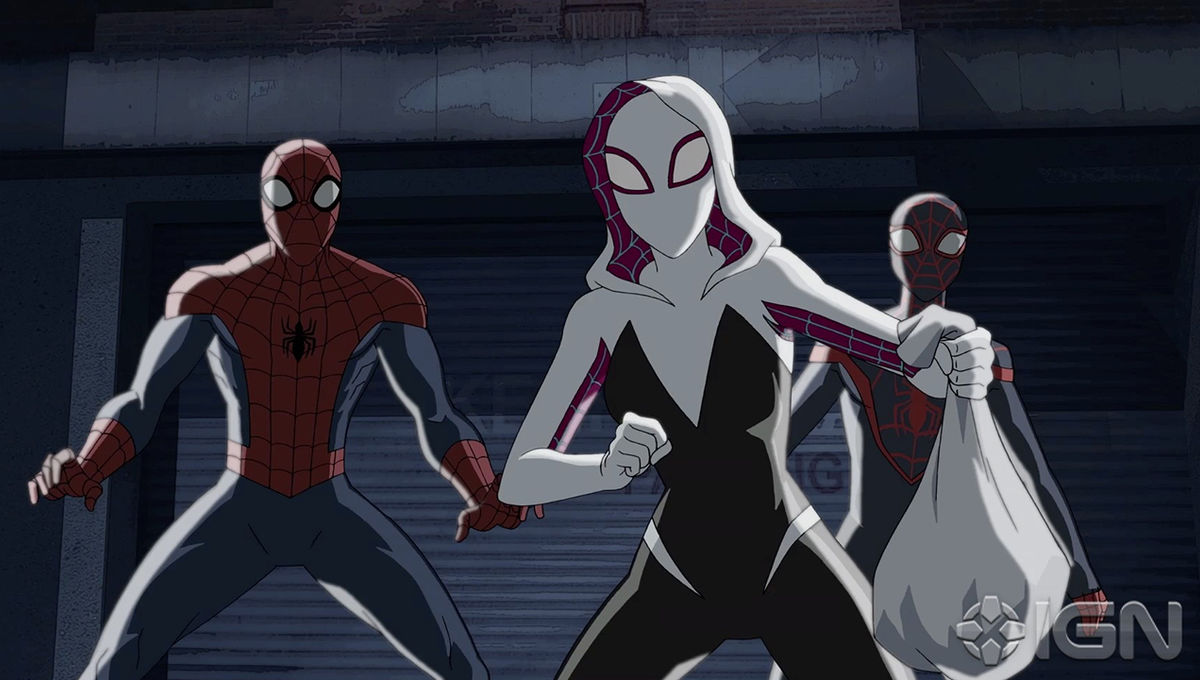 first look at spider-gwen's animated series debut in ultimate spider