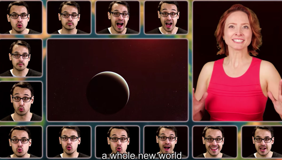 Whole New World screen grab