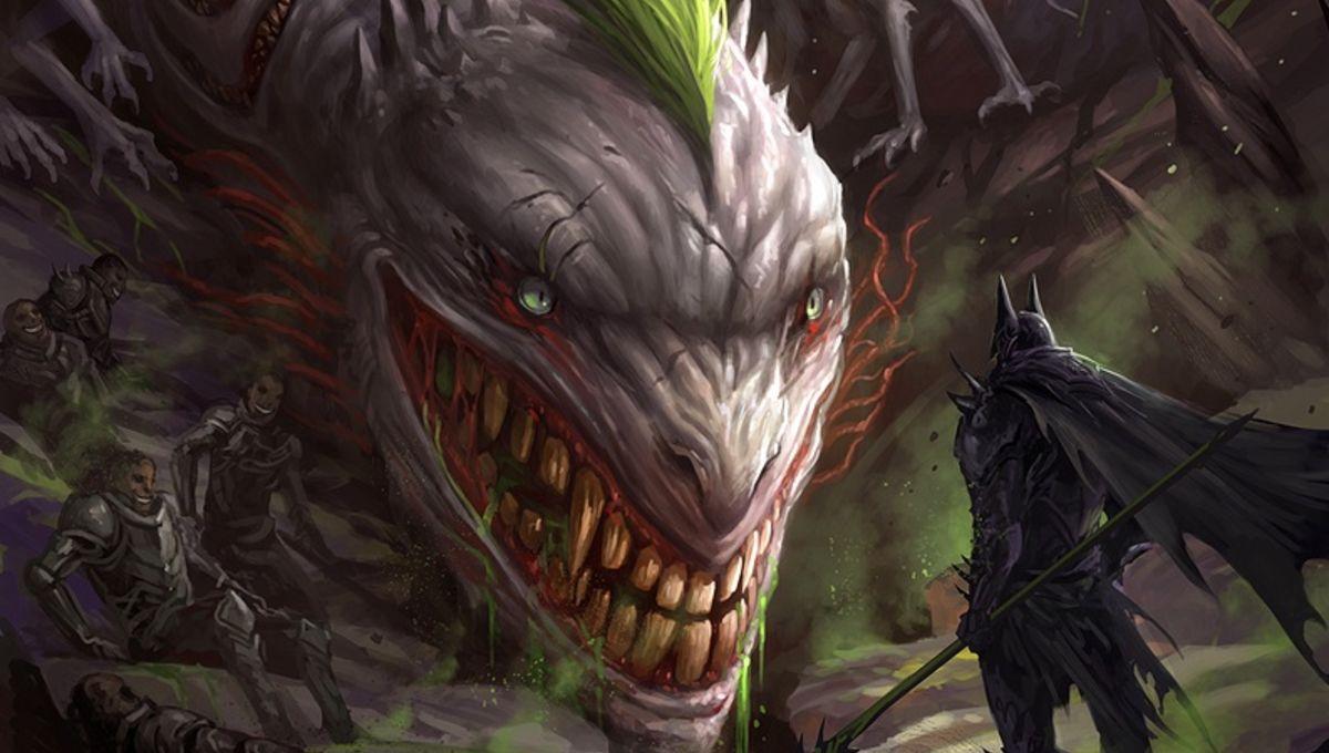 Fantasy Art Chaos Dragon