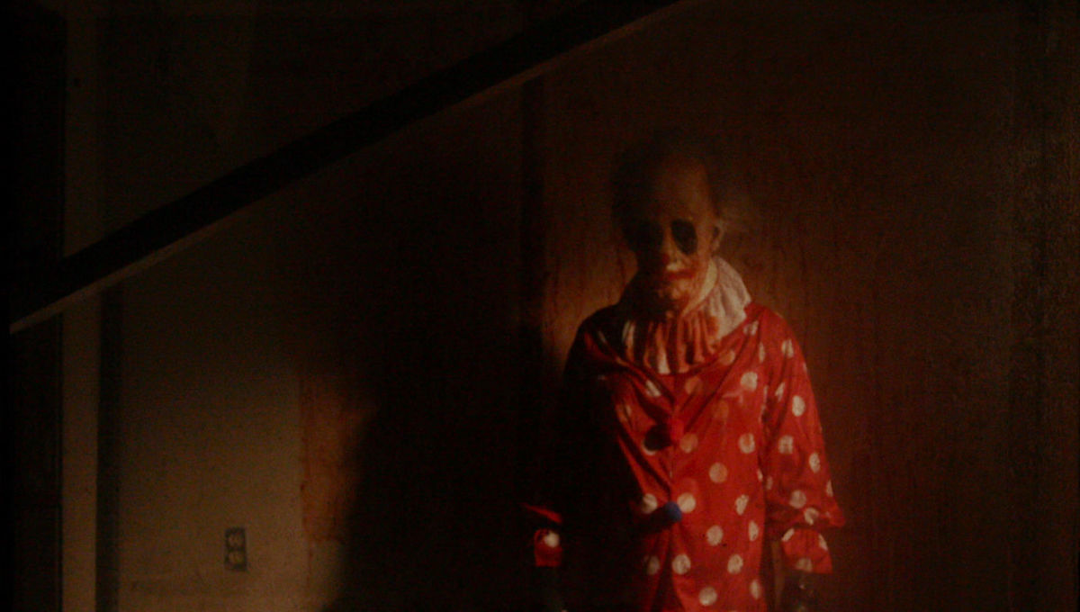 Exclusive: Wrinkles the Clown crashes game night in spooky clip