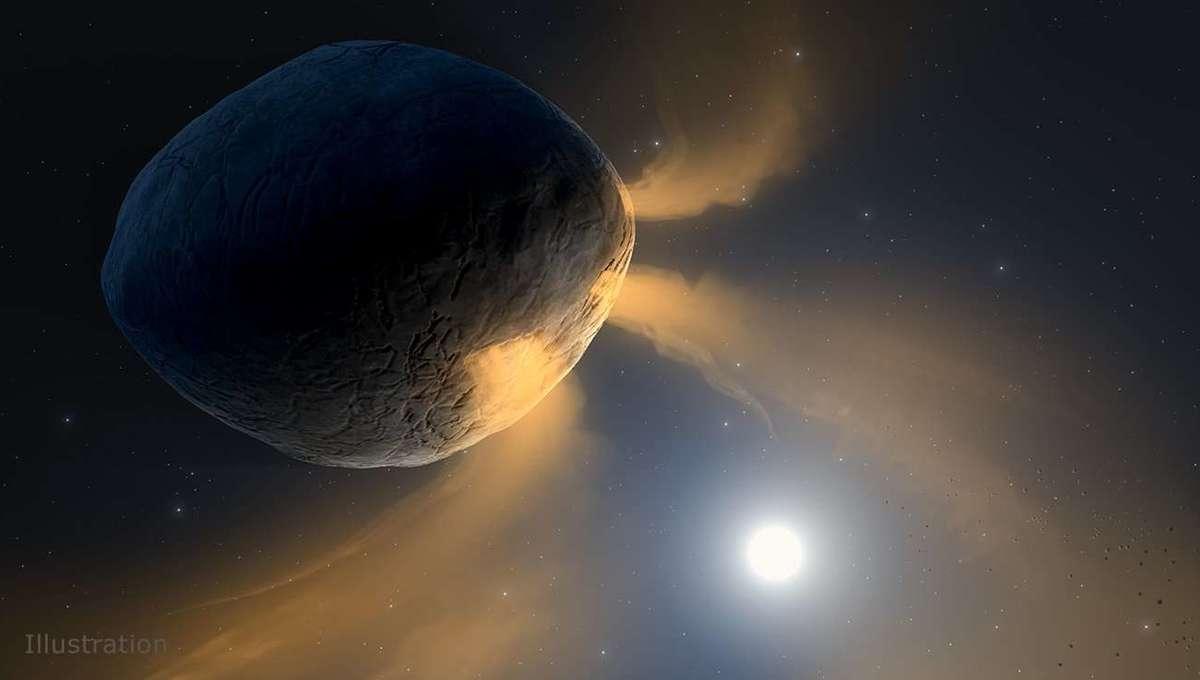 Liz Asteroid Phaethon