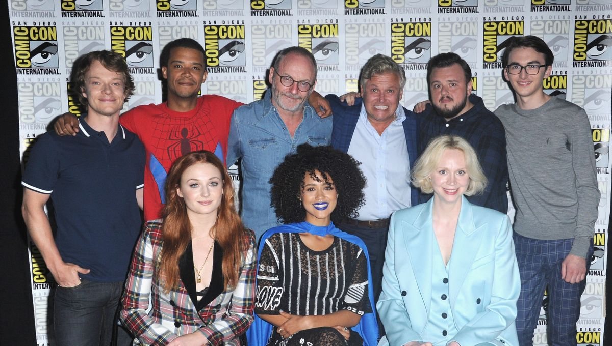 Game of Thrones Hall H Comic Con Panel