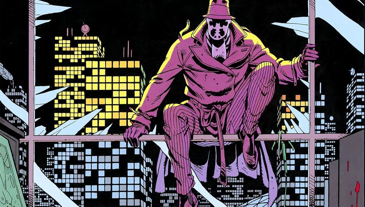 SYFY - Rorschach meets the Trinity in