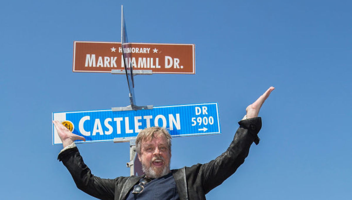 Mark Hamill Drive