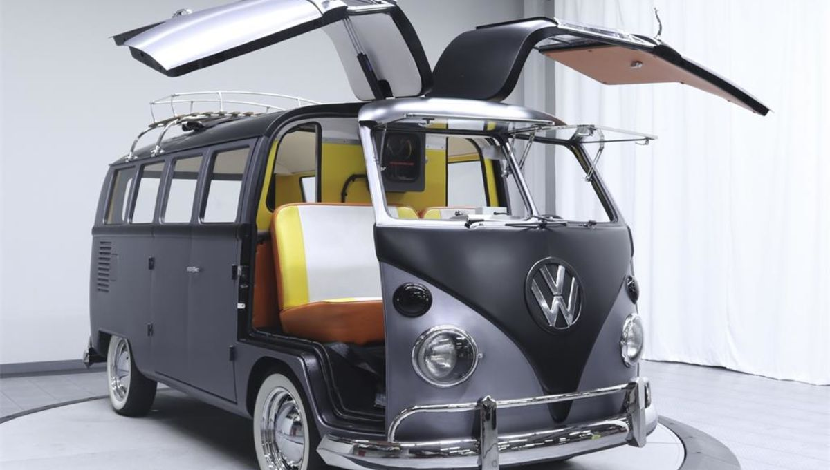 Back to the Future Volkswagen Bus