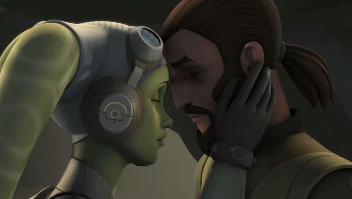 Star Wars Rebels - Hera and Kanan