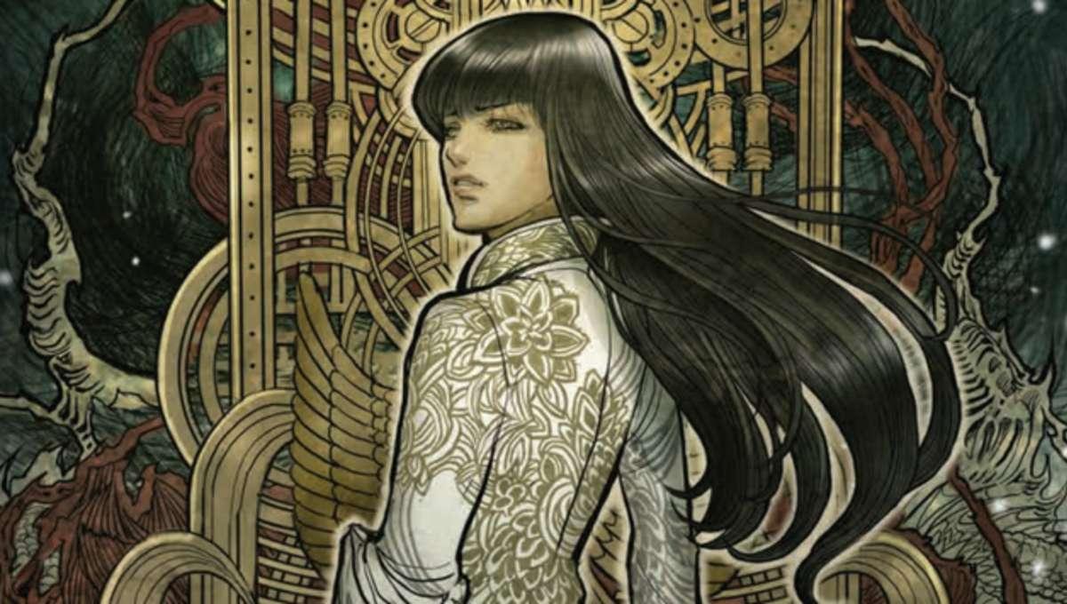 Monstress Cover Art