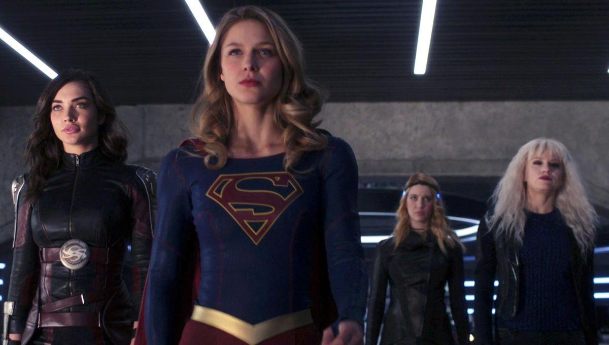 Supergirl Episode 311 Fort Rozz - Supergirl, Saturn Girl, Livewire, Psi