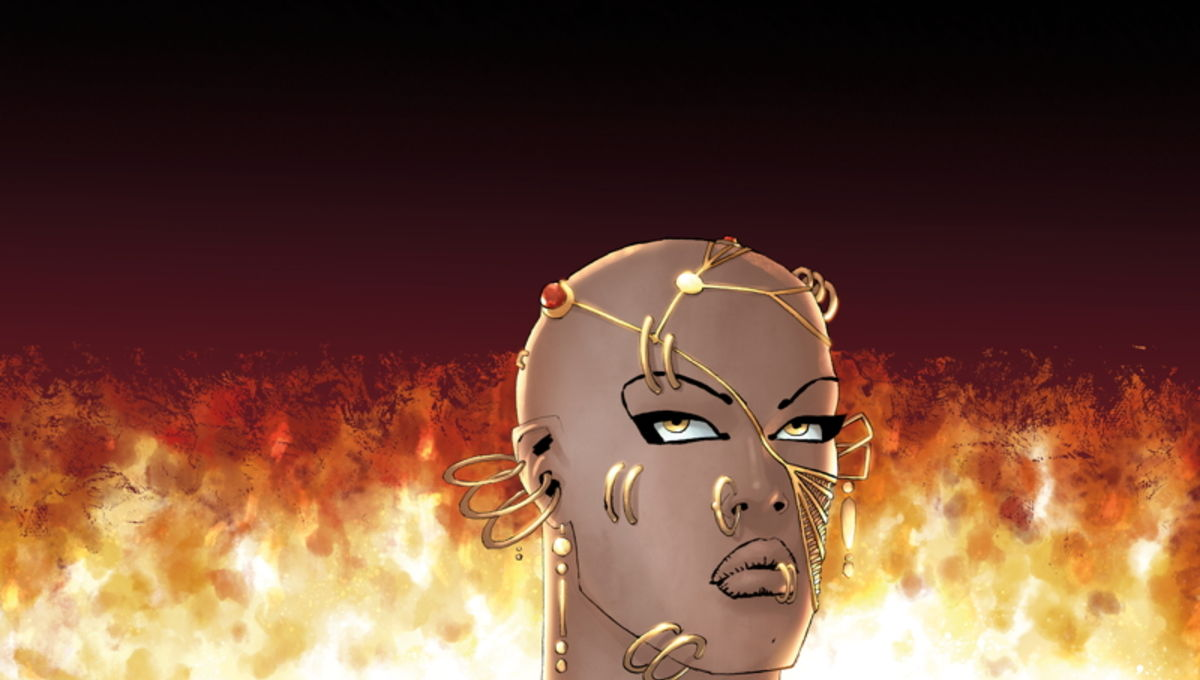 Frank Miller Xerxes comic book cover