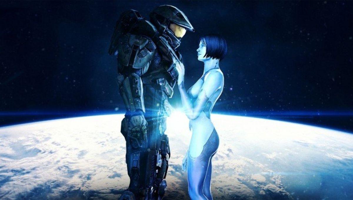 Halo 4 - Chief and Cortana