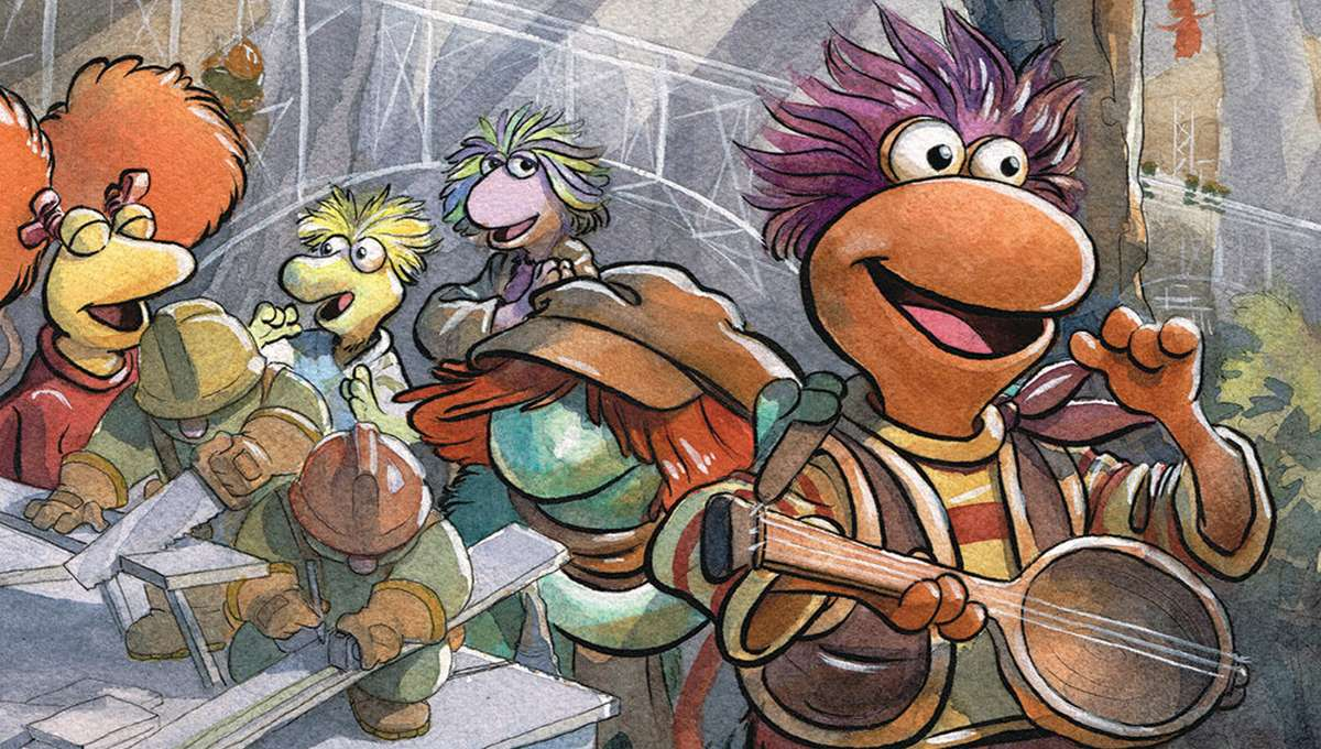 BOOM! Studios Fraggle Rock #1 Main Cover by Jared Cullum
