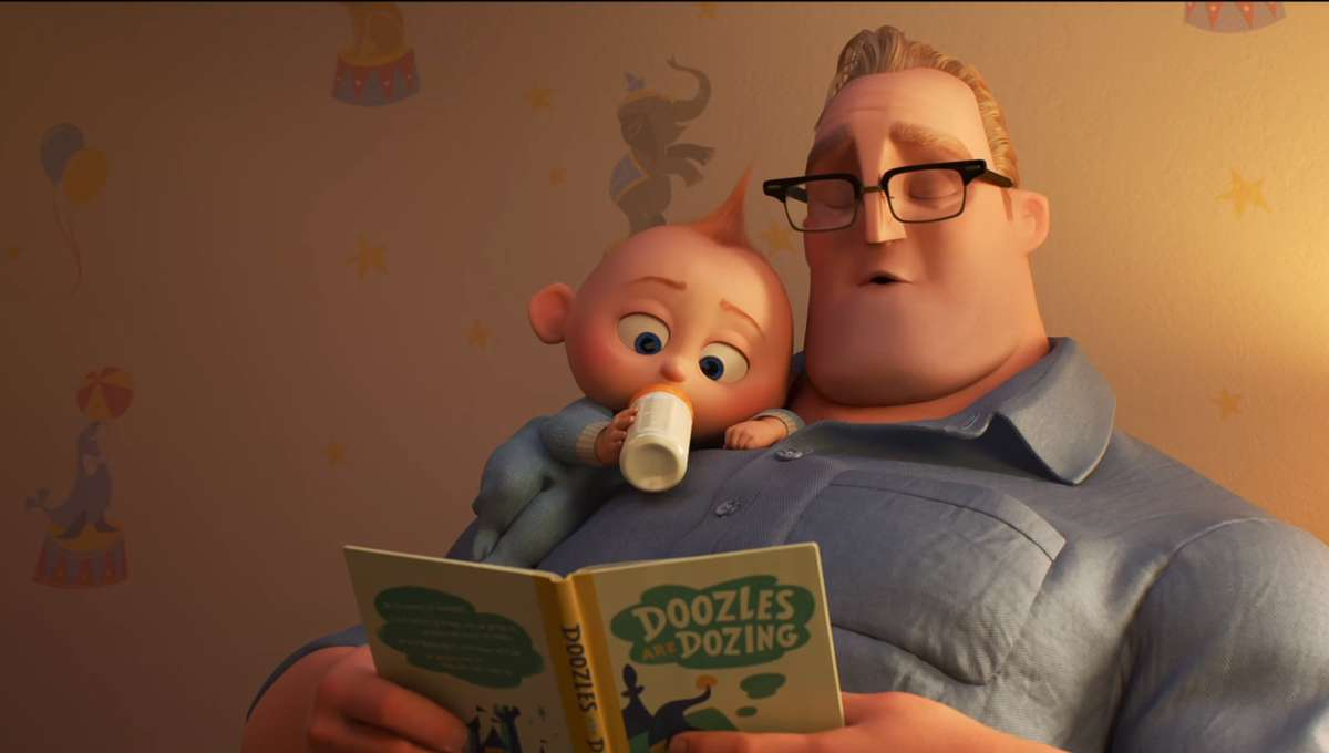 Incredibles 2 Bob Jack-Jack