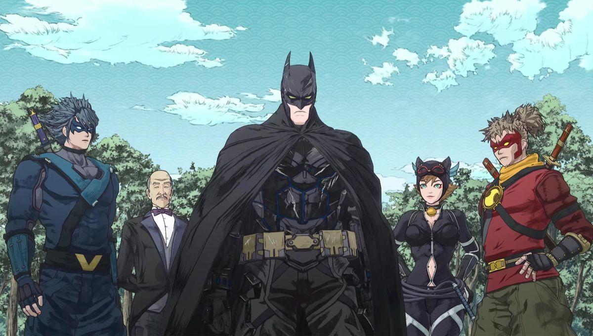 Batman Ninja Bat Crew