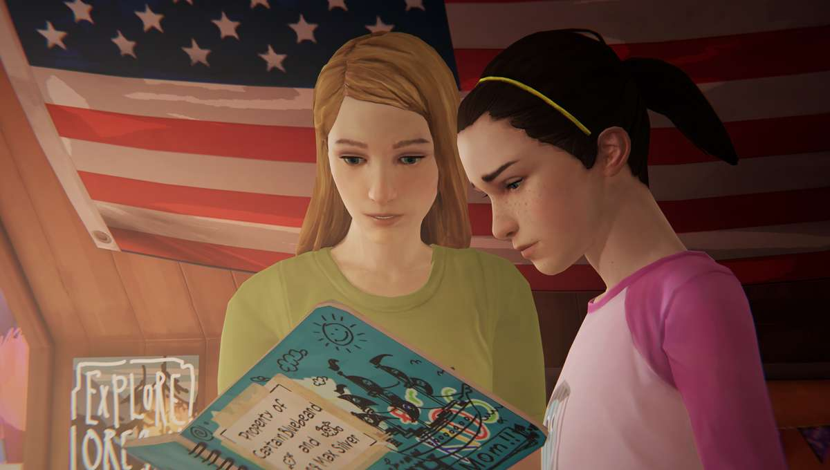 Life is Strange: Before the Storm - Young Chloe and Max