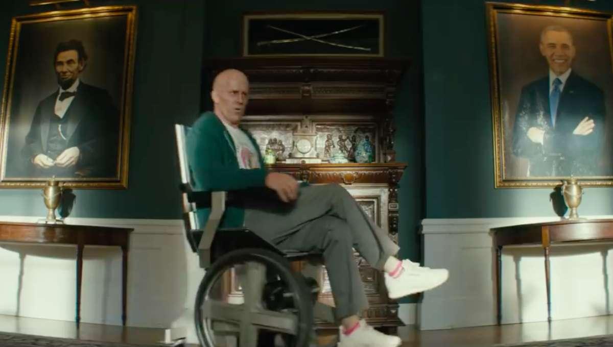 deadpool 2 professor x wheelchair