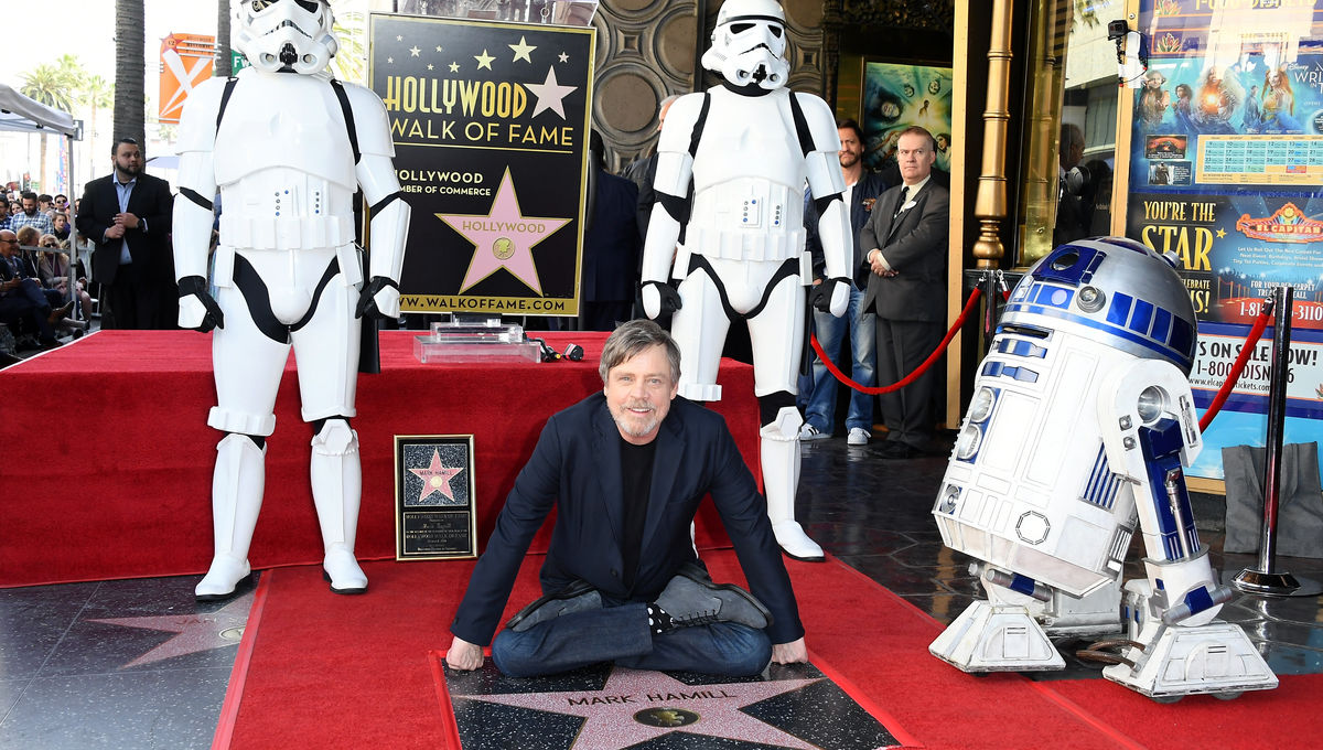 Mark Hamill Walk of Fame 2