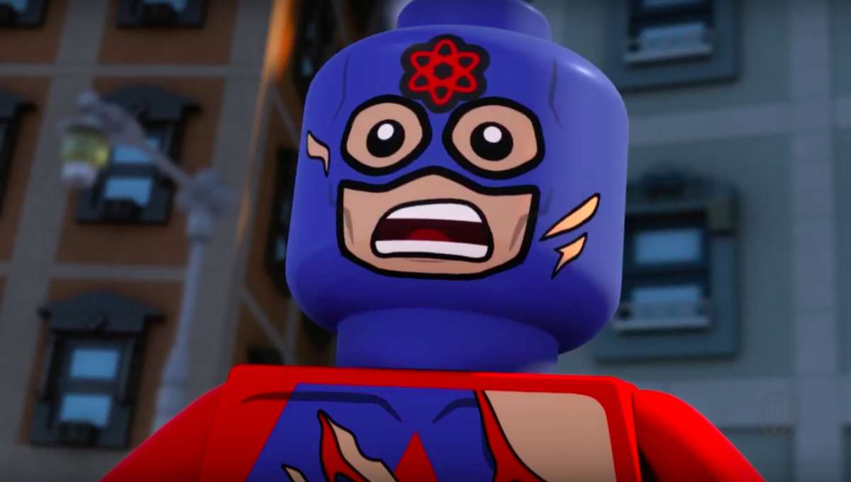 Lego Dc Super Heroes The Flash Watch The Atom Grapple With His Small Stature