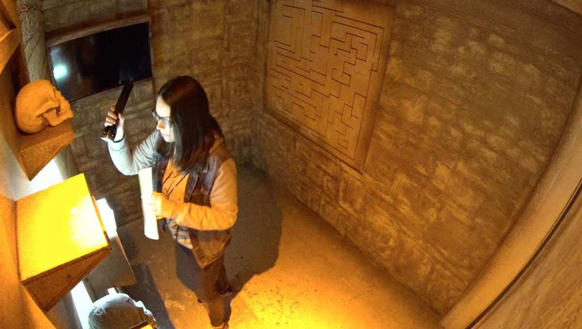 Tomb Raider, Escape Room