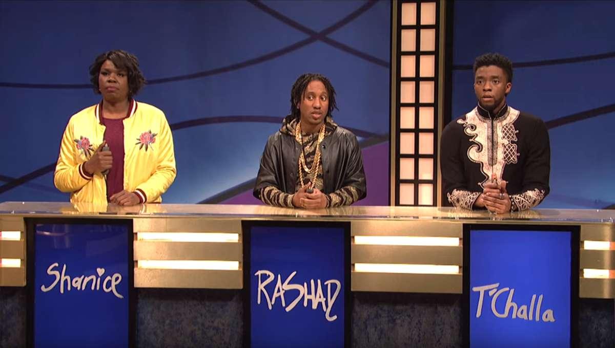 Chadwick Boseman, SNL, Black Panther
