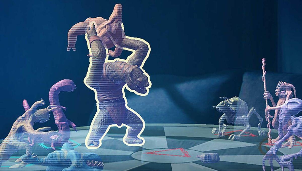 Holochess onStar Wars: Jedi Challenges (Disney)