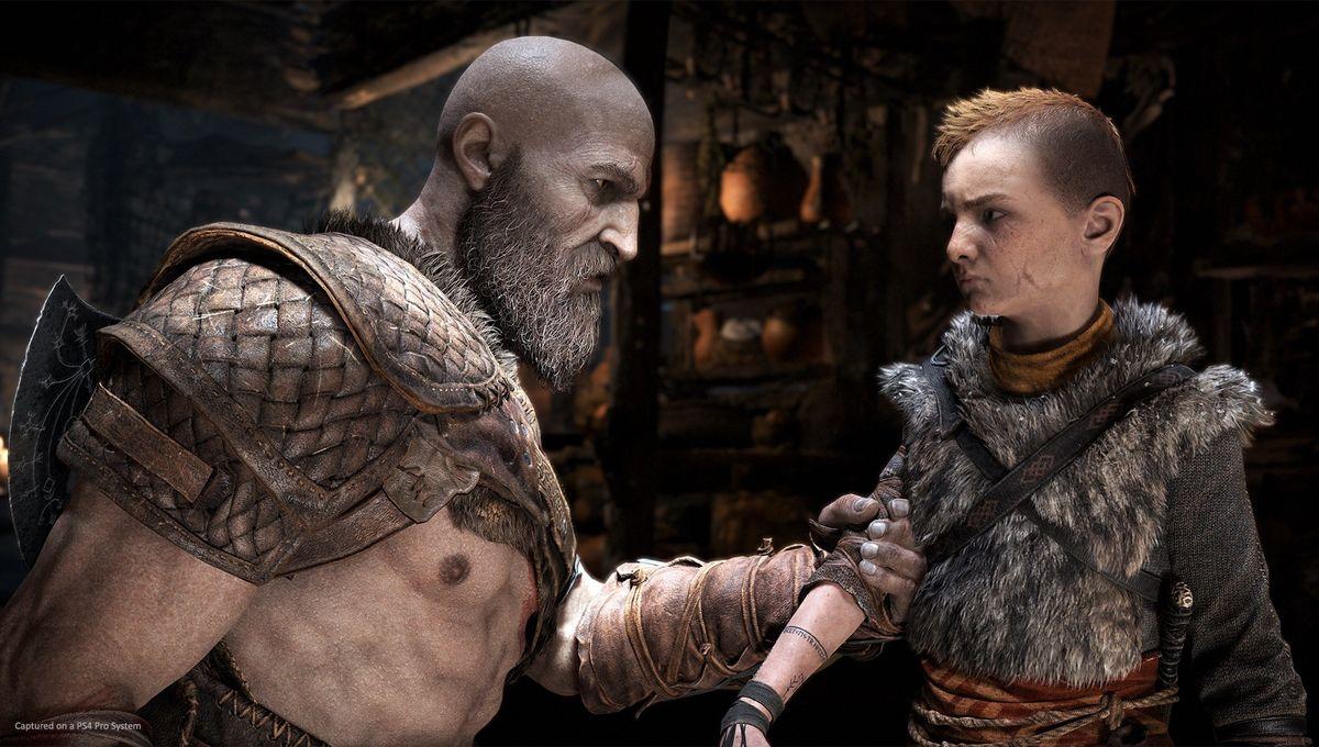 God of War - Kratos and Atreus