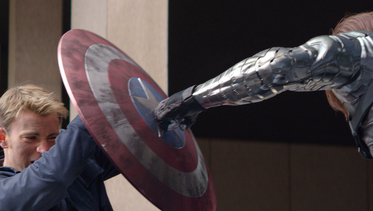 Captain America: The Winter Soldier punch