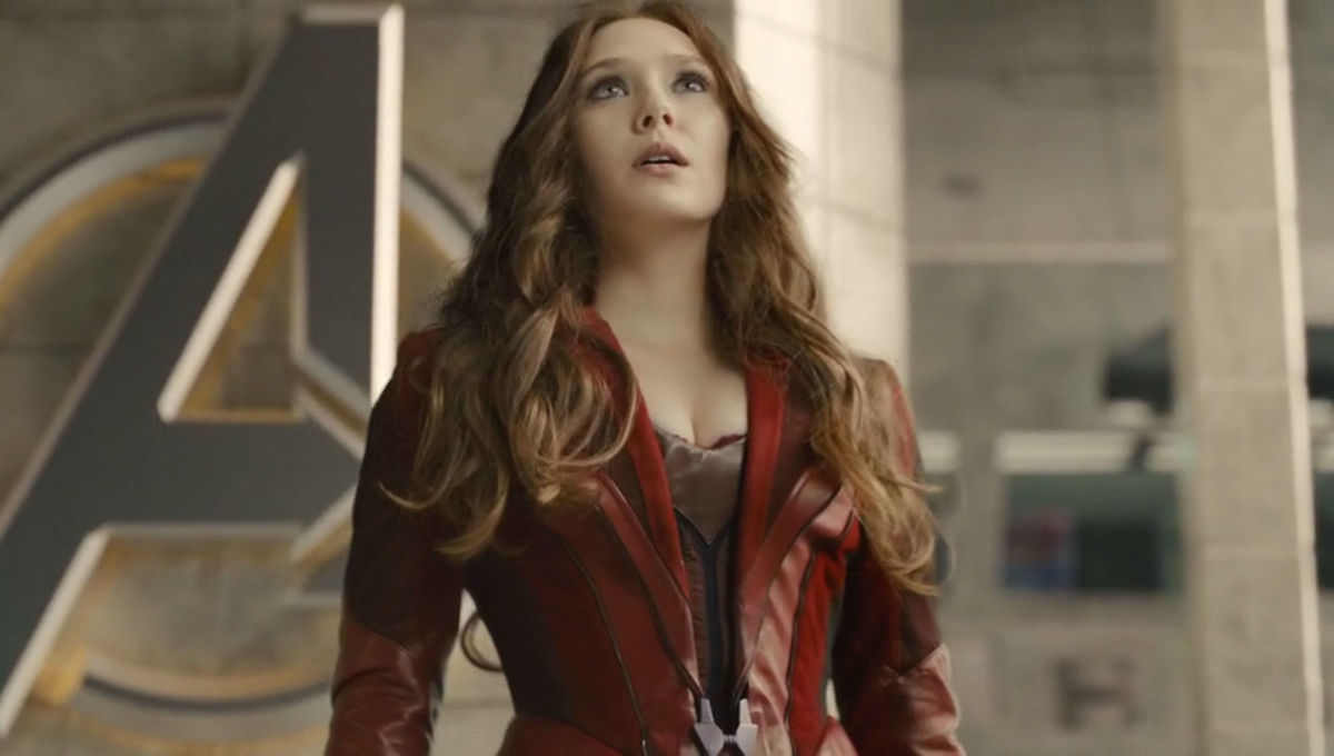 Elizabeth Olsen Wants To Cover Up Her Scarlet Witch Costume