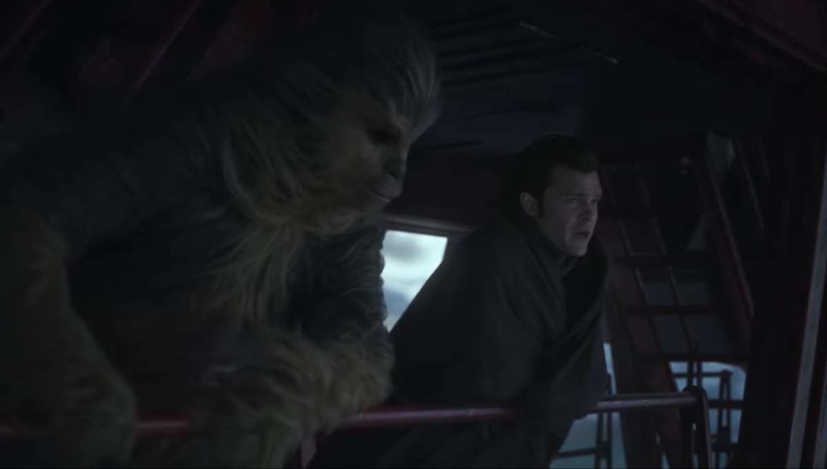 Solo Han and Chewie