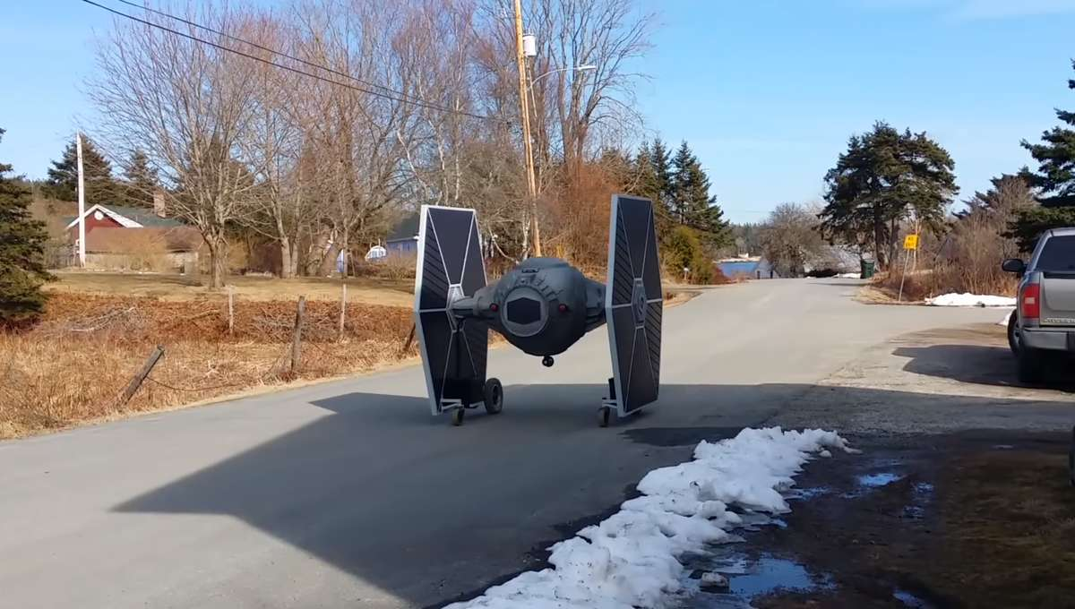 TIE Fighter Allan Carver