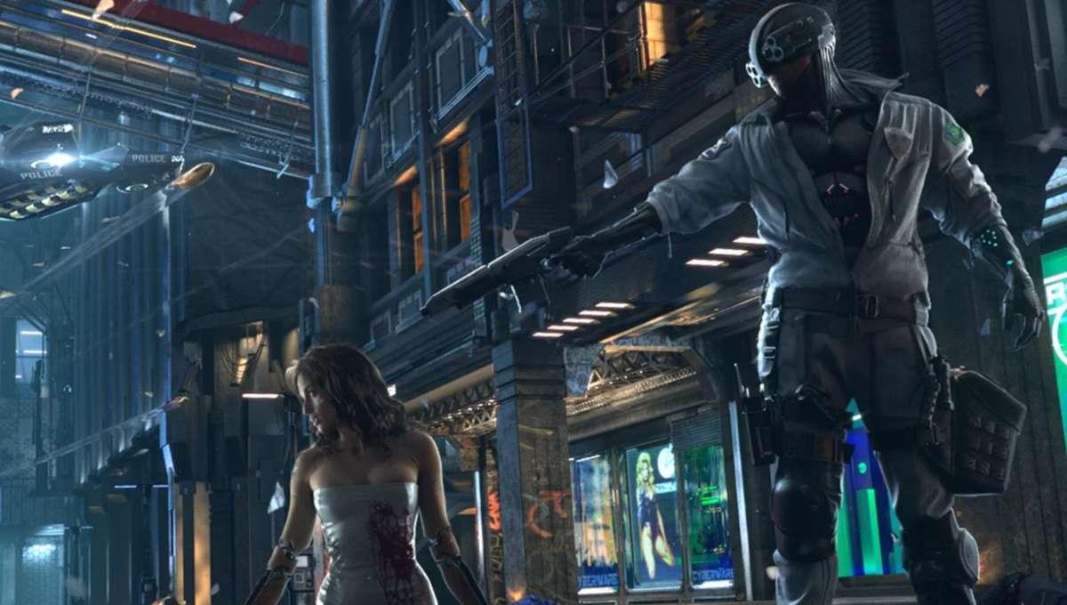Cyberpunk 2077 - Main Artwork