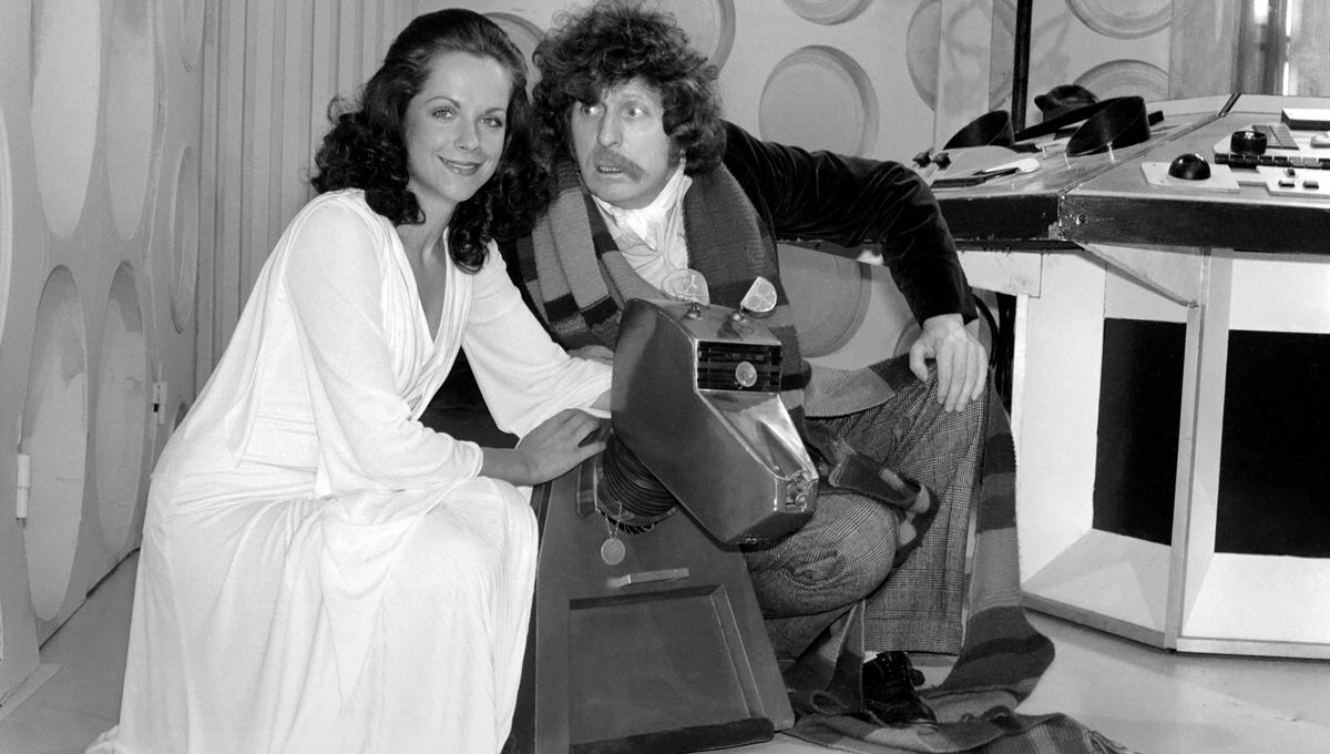Doctor Who Tom Baker, Mary Tamm Getty Image 592344280