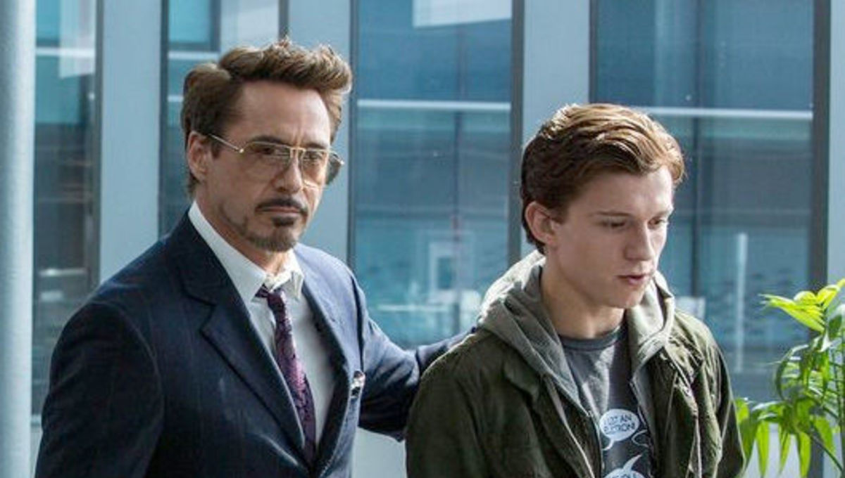 Peter Parker and Tony Stark Homecoming