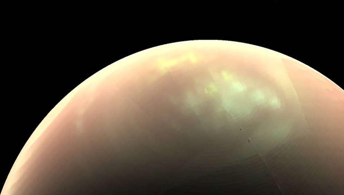 NASA image of Saturn's moon Titan