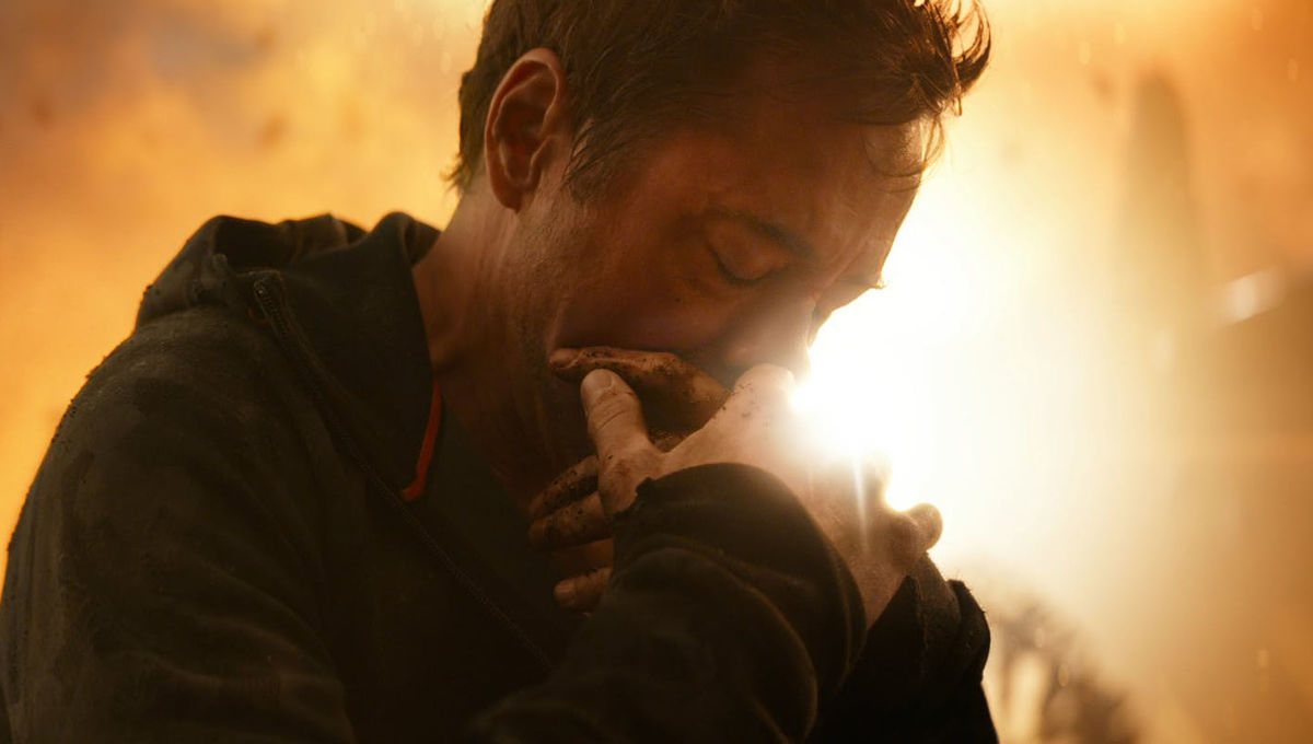 Avengers Infinity War Sad Tony
