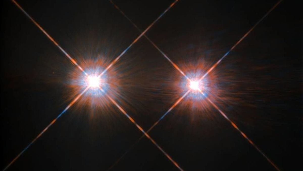 Alpha Centauri A and B