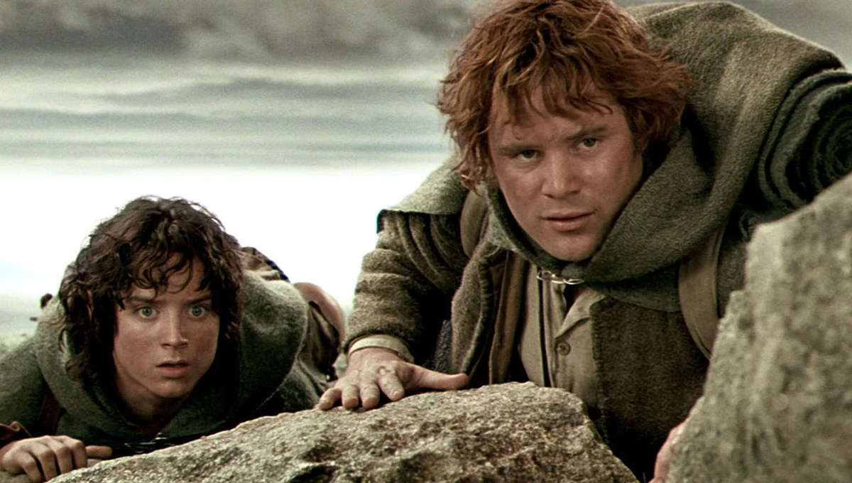 Lord of the Rings Sam and Frodo