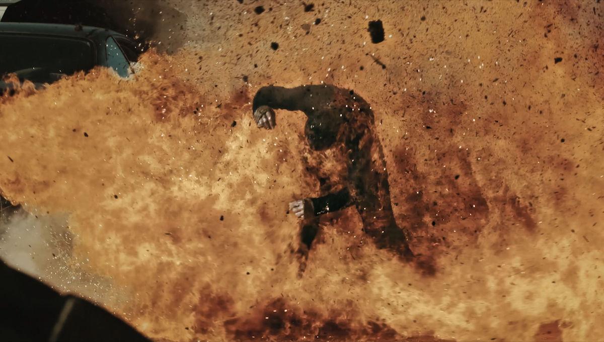 Fire stunt