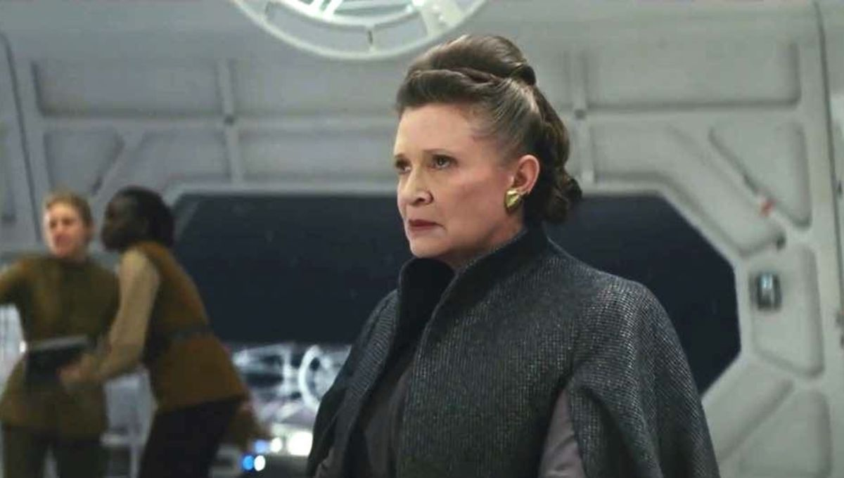 Carrie Fisher as Leia Organa (Star Wars: The Last Jedi)