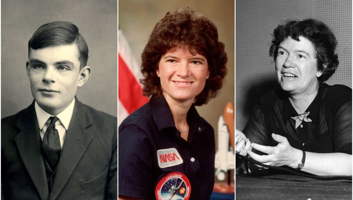 LGBTSTEM, Alan Turing Sally Ride Margaret Mead