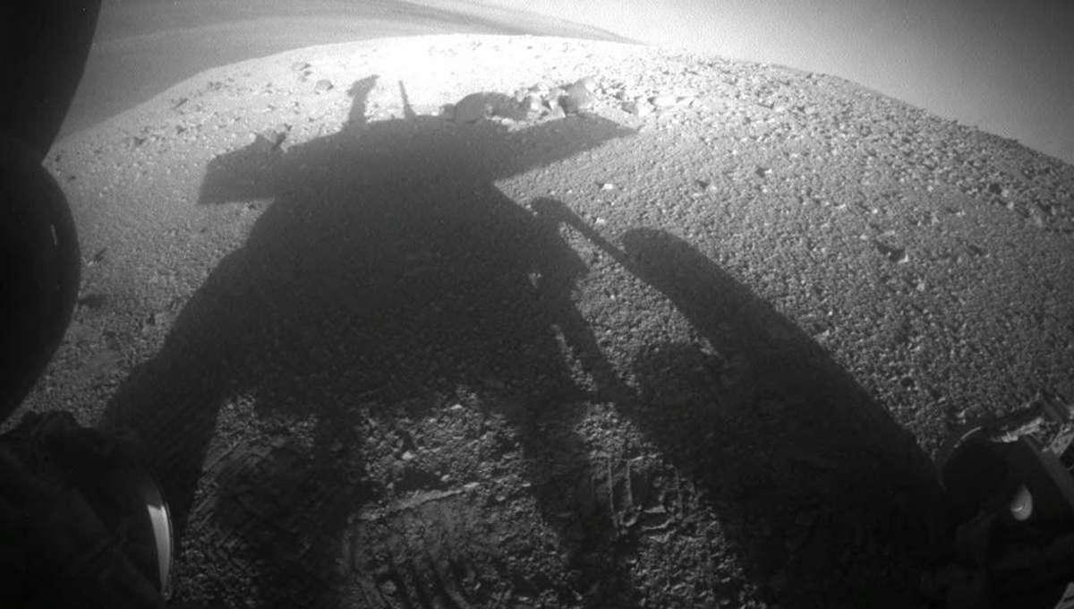NASA's Mars rover Opportunity on Mars
